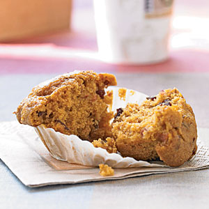 Pumpkin-Cranberry Muffins Recipe