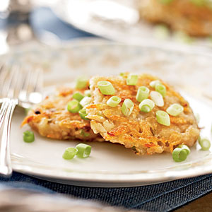 Potato-Scallion Latkes