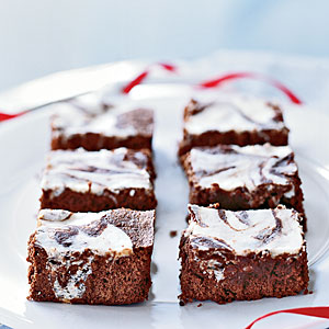 Cream Cheese-Swirled Brownies Recipe