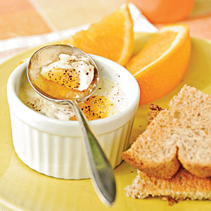 Simple Baked Eggs Vegetarian Egg Recipe
