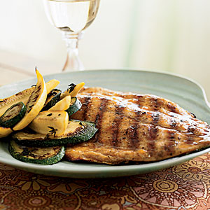 Pompano with Tropical Barbecue Glaze Recipes