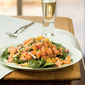Caribbean Shrimp Salad with Lime Vinaigrette