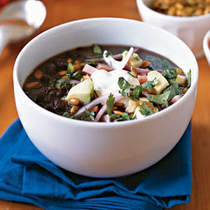 Healthy Cuban Black Bean Soup Recipe