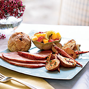 Easter Brunch Buffet Menus and Recipes