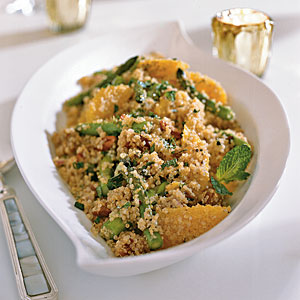 Quinoa Salad with Asparagus, Dates and Orange Recipes