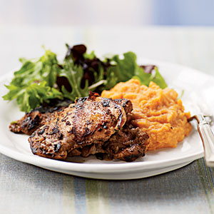 Jamaican-Spiced Chicken Thighs Recipe