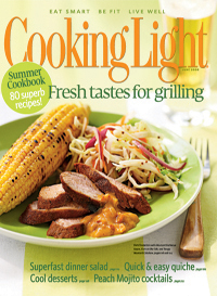 June 2008 Magazine Cover from Cooking Light