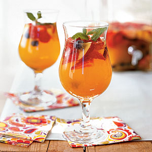 Blueberry Recipes: Sparkling Sangria