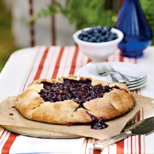 This dessert is surprisingly easy to prepare and makes great use of the fresh summer berries that region is famous for.