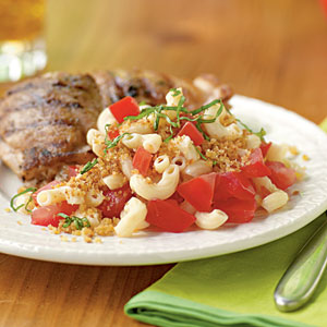 Macaroni Salad with Summer Tomatoes Recipe