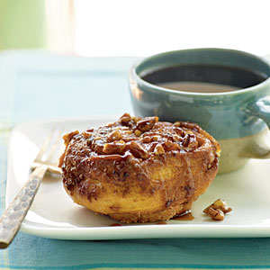 Ooey gooey and delicious, these sticky rolls are sure to please.