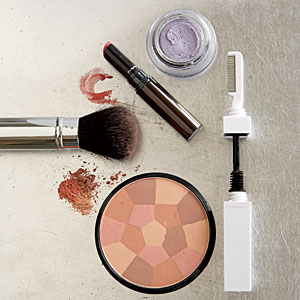 As your hair and skin change, you'll want to shift your makeup colors too, to complement your new look.