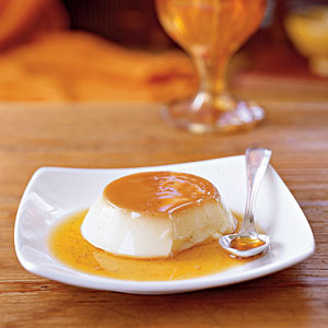This rich custard gets its color and flavor from a caramelized-sugar topping that you can learn how to make in our guide to caramelizing.