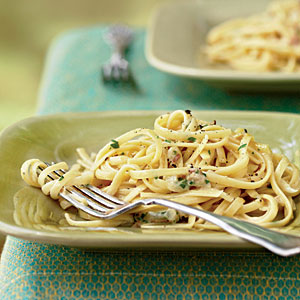Recipe for Two: Linguine Carbonara