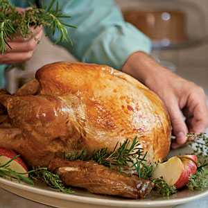 Spice-Brined Turkey with Cider Pan Gravy Recipes