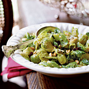 Brussels Sprouts with Currants and Pine Nuts Recipes