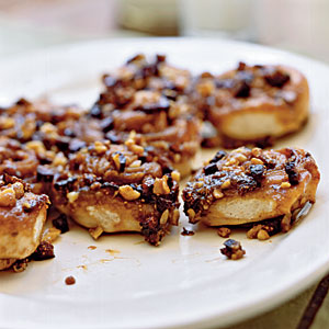 Fig-Walnut Sticky Buns Recipes
