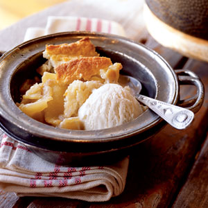 Cast-Iron Apple Cobbler Recipe