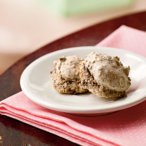 Healthy Fig-Pecan Macaroons Cookies Recipe