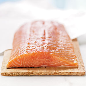 Vitamin D source: salmon
