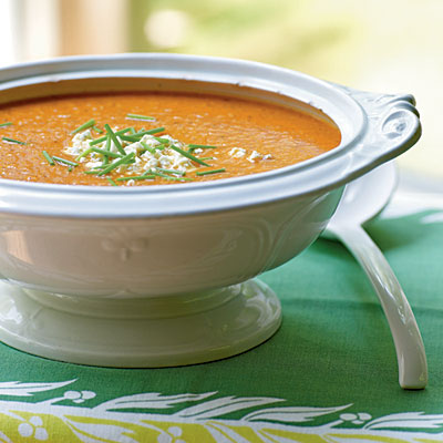 Roasted Corn, Pepper, and Tomato Chowder - 100+ Healthy Soup Recipes ...
