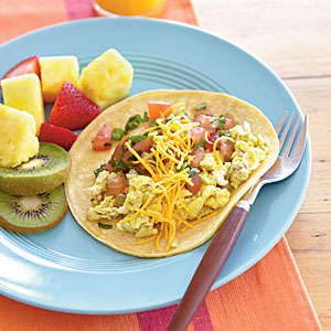 Kids' Quick Breakfast Burritos