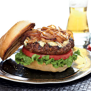 Stilton Burgers Comfort Food Recipe