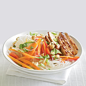 Pork and Noodle Salad