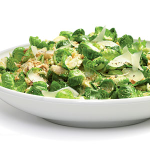 Nutty Warm Brussels Sprouts Salads