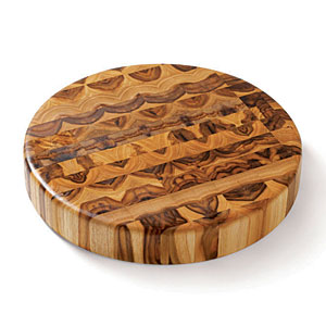 End Grain Circle Chopping Block