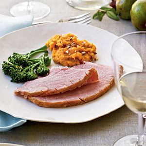 Honey-Coriander Glazed Ham Recipes