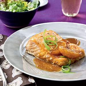 Salmon with Satsuma-Soy Glaze Recipes