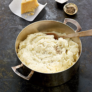 Buttermilk-Parmesan Mashed Potatoes Recipes