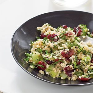 Bulgur with Dried Cranberries Recipes