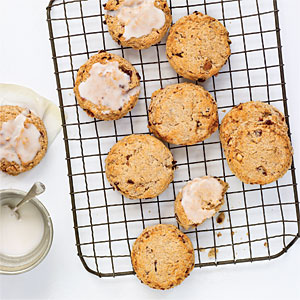 Toasted Almond and Cherry Scones Recipes