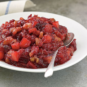 Cranberry, Apple, and Walnut Sauce Recipes