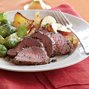 Healthy Dinner Recipe: Herb-Roasted Beef and Potatoes