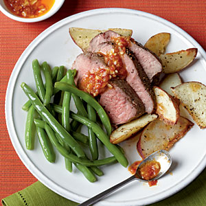 Healthy Budget Recipes: Roast Leg of Lamb with Chile-Garlic Sauce