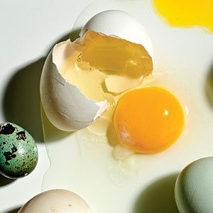 Myth 2. Eating eggs raises your cholesterol levels. - 10 Nutrition ...