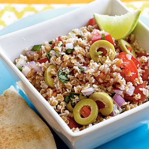 Tart & Tangy Bulgur Salad Recipe