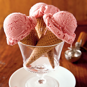 Strawberry-Rhubarb Ice Cream Recipes