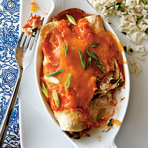 Healthy Chicken Enchiladas Recipes