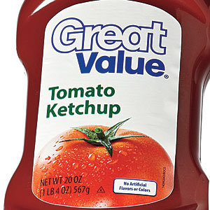 Walmart Great Value Tomato Ketchup