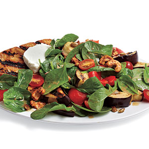 Grilled Vegetable and Goat Cheese Salad