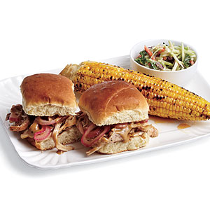 Barbecue Chicken Sliders Recipes