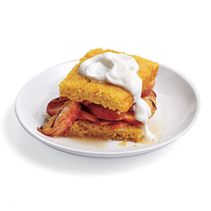 Brandied Peach Shortcakes Recipes
