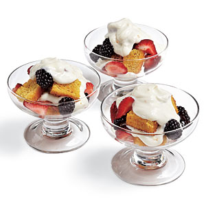 Mixed Berry Trifles Recipes