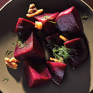 Beets with Dill and Walnuts Recipes