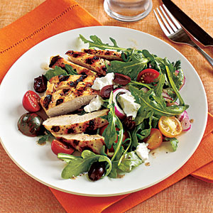 Grilled Chicken and Tomato Salad Recipes