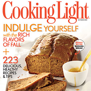 Cooking Light October 2010 Cover